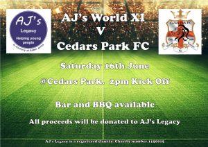 AJ's World XI vs Cedars Park FC 2018
