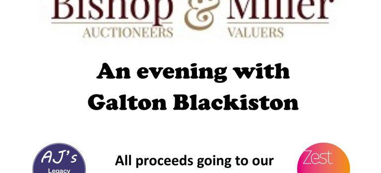 An Evening with Galton Blackiston