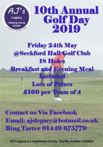 10th Annual Golf Day 2019