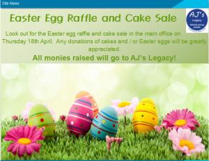 PPG Easter Egg Raffle & Cake Sale