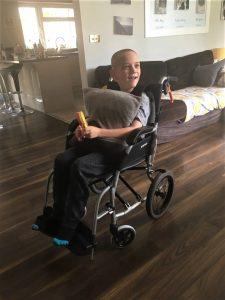 Alec's New Wheelchair