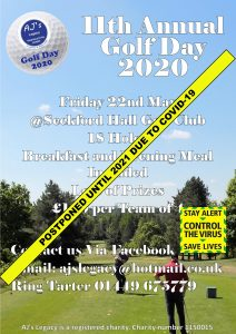 AJ's Legacy Golf Day 2020